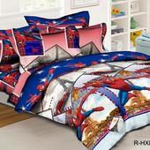 Комплект постельного белья Спайдермен, ранфорс