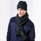Теплый большой вязаный шарф ТСМ Чибо. 205х25