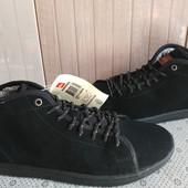 Quicksilver Ботинки із натуральної замші зовні,утеплені 43 рр і устілка 28 см.