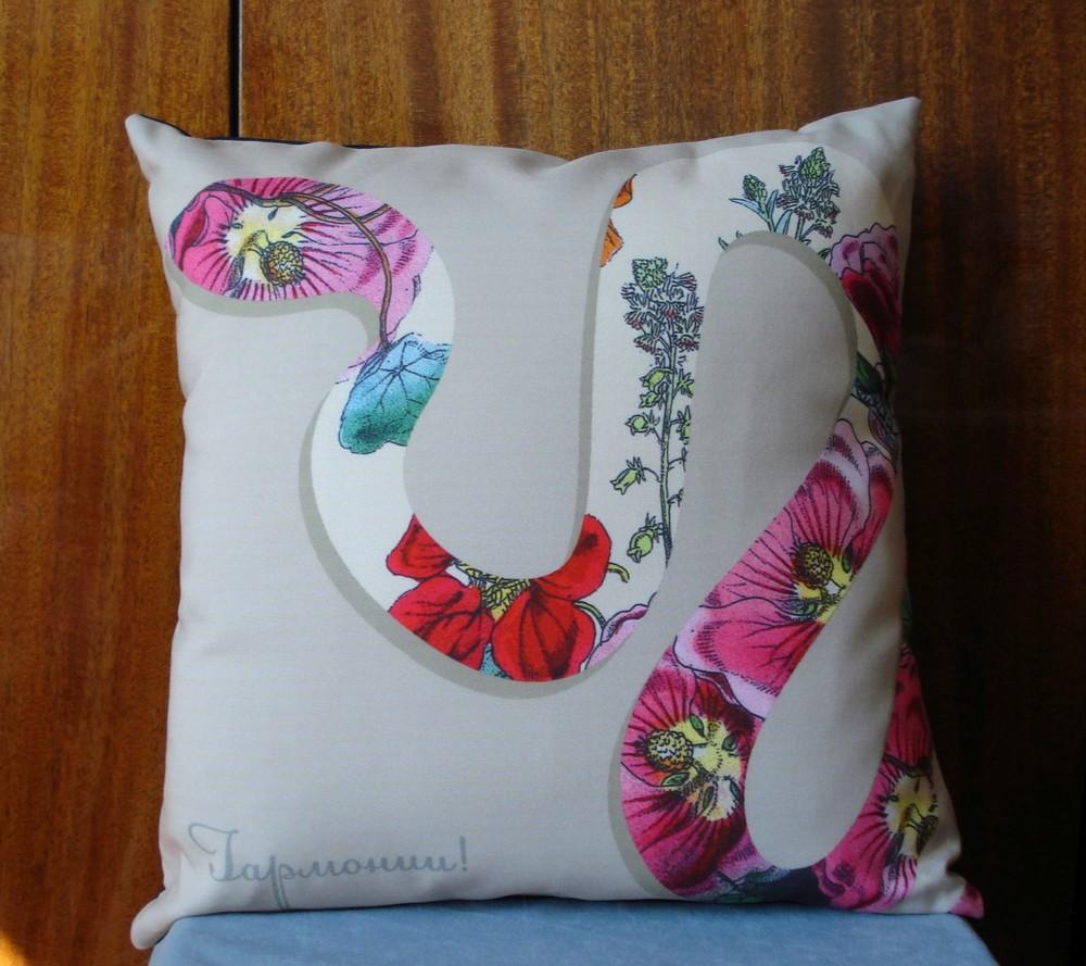 Декоративная подушка presentville (разные принты) фото №1