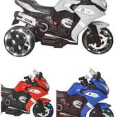 Мотоцикл M 3688. 2 мотора. Все колеса светятся