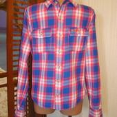 Рубашка байковая-фланелевая р.S Hollister