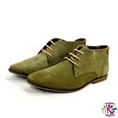 Ботинки 43 р AM shoe company кожа оригинал демисезон