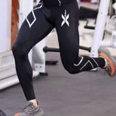 Лосины мужские, тайтсы компрессионные, утягивающее белье спорт 2XU качественная копия