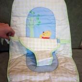 Матрас для детского стульчика. Disney! на 6 месяцев/вес 9 кг. Съемная мягкая часть/ матрасик.