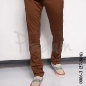 Мужские коричневые брюки