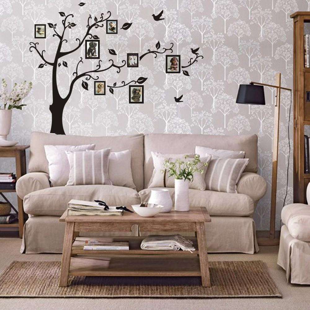 Виниловые наклейки семейное дерево фото №1