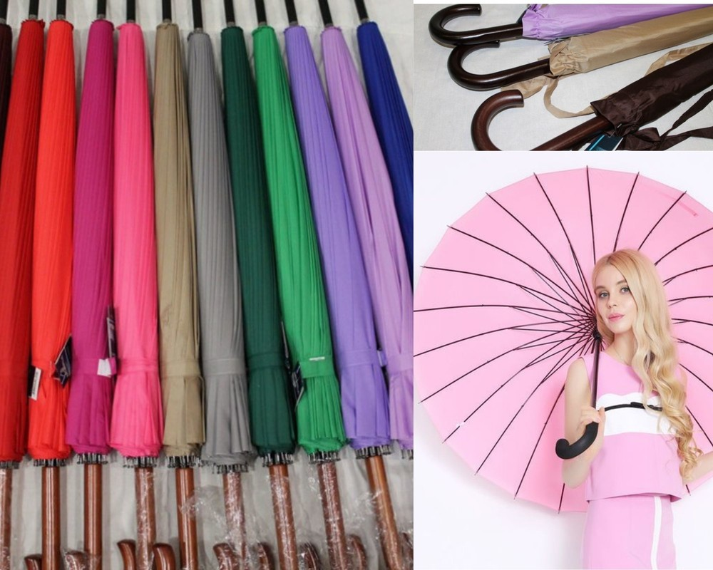 Антишторм 24 сп! шикарный женский крепкий зонт трость mario фото №1