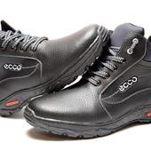 Ботинки зимние для мужчин, прошитые на спорт. подошве Сб-16