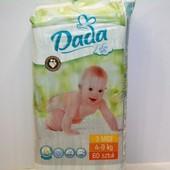 Подгузники Dada extra soft 3 Midi 4-9кг 60шт (Чехия)