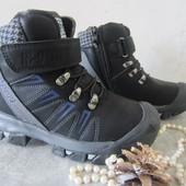Легкие зимние ботинки на овчине 35,37 р