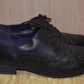 Туфли броги Clarks 40 р., 26 см