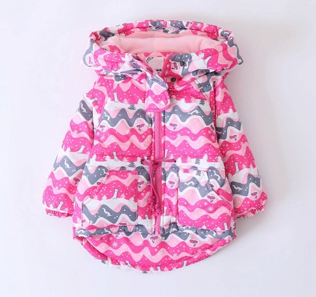 Детская зимняя куртка для девочки теплая куртка деми курточка фото №1