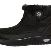 Женские теплые сапожки-ботинки для холодной Зимы (ЛК-02ч)