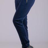 Женские зимние штаны, брюки  с начесом, утепленные , р-р 46-52