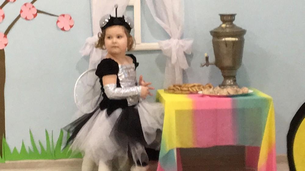 Карнавальный костюм муха цокотуха , размер 98-104 фото №1