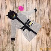 Фирменный халат Batman для мальчика 5-6 лет, 110-116 см