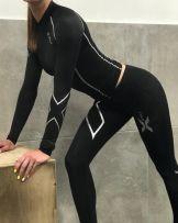 Компрессия комплект женский, мужской, 2xu копия, качество швов проверено s-5xl фото №1