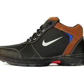 Ботинки зимние мужские спортивные в стиле Найк (ЮА-66-2рс)