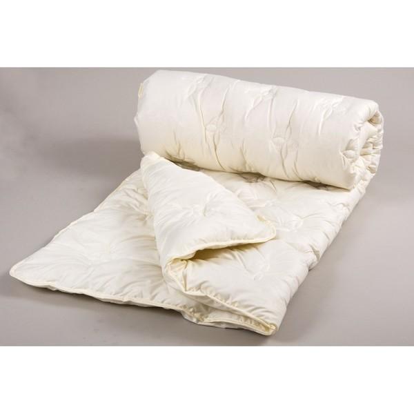 Одеяло lotus - cotton delicate 170*210 крем двухспальное фото №1