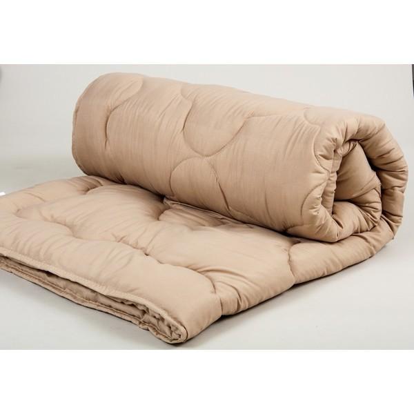 Одеяло lotus - comfort wool 170*210 кофе двухспальное фото №1