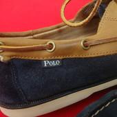 Туфли топсайдеры Ralph Lauren оригинал натур замша 43 размер