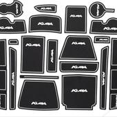 Ford Kuga Форд Куга 2017-2018 г.в. коврики для ниш и карманов