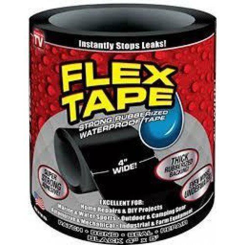 Flex tape сверхпрочная клейкая лента для ремонта игрушек надувних изделий фото №1