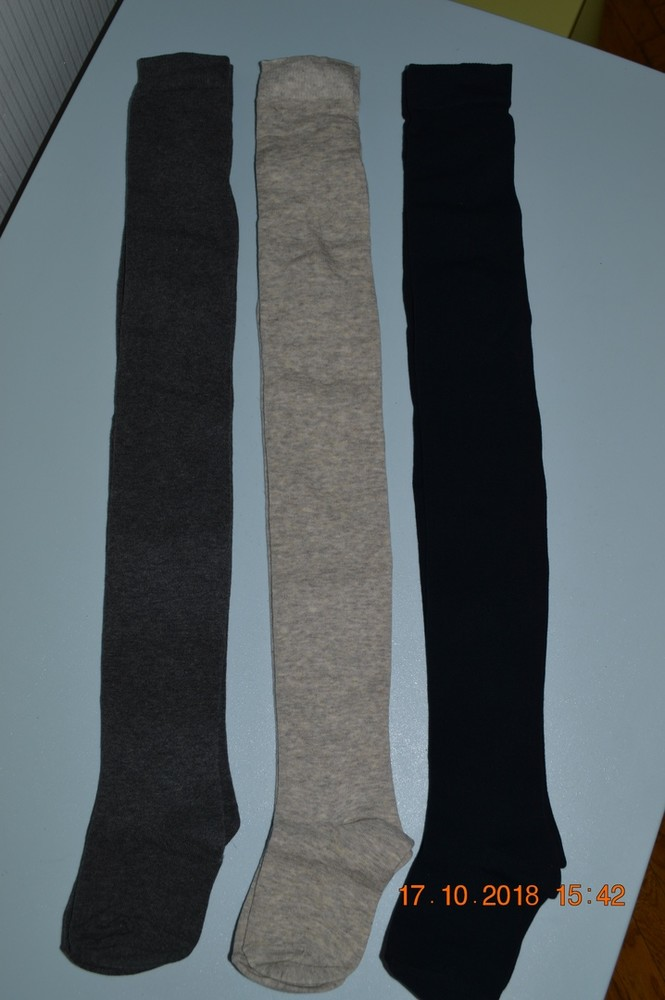 Нові однотонні колготи next (унісекс) розм. 3-4 р./104 і 5-6 р./116 в наявності фото №1