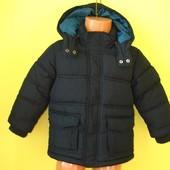 Зимняя куртка H&M 92 рост, длн от плеча -  44 см, рукав от плеча - 34 см, в прекрасном состоянии, 25