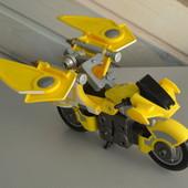 Мотоцикл Bandai самолет трансформер