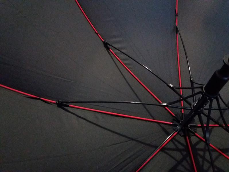 Стильный качественный подростковый зонт трость спица карбон фото №6
