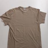 Фирменная хлопковая футболка XL