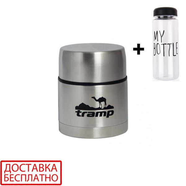 Термос пищевой tramp 0. 5 л trc-077 и подарок фото №1