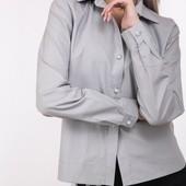 Женская рубашка с фигурным низом 88780 4 цвета