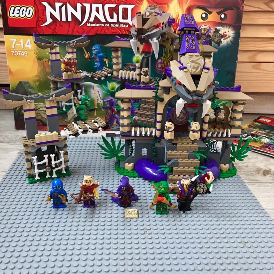 Lego ninjago 70749 храм клана анакондрай фото №1