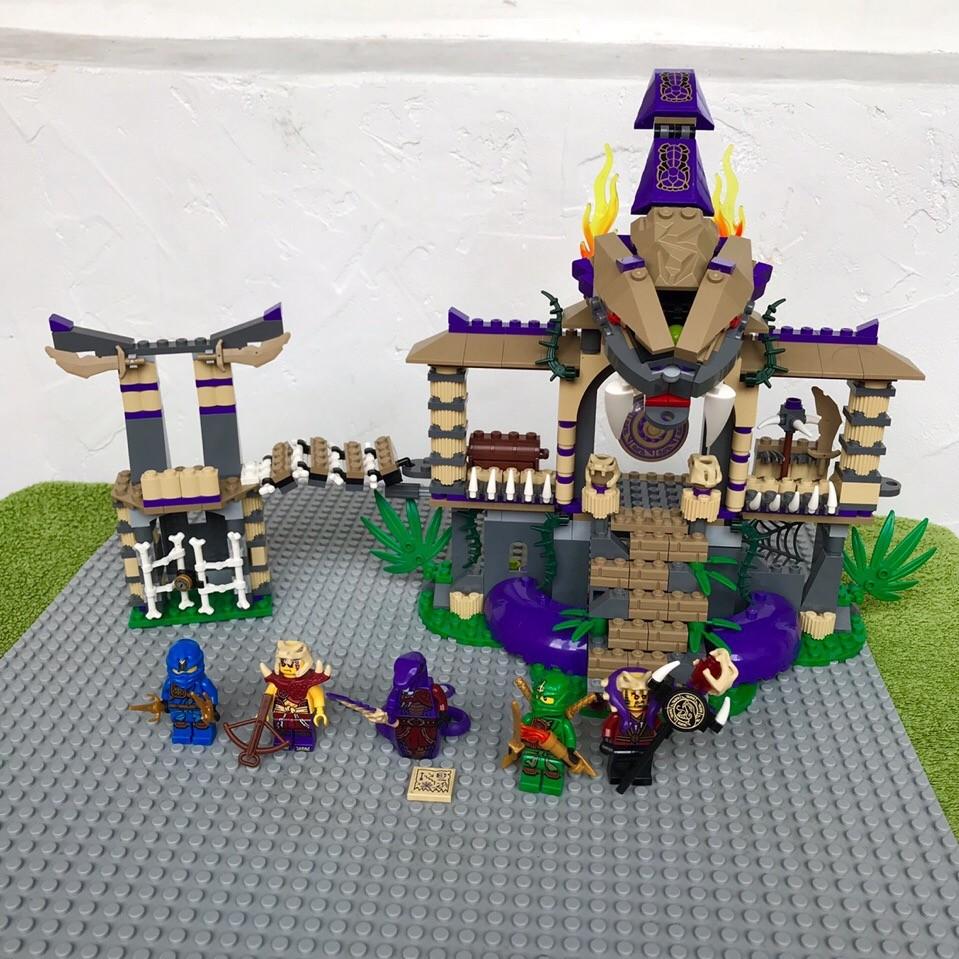 Lego ninjago 70749 храм клана анакондрай фото №2
