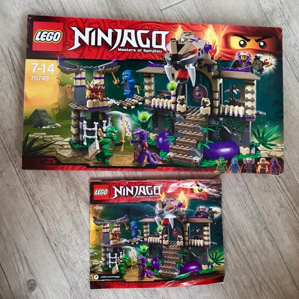 Lego ninjago 70749 храм клана анакондрай фото №3