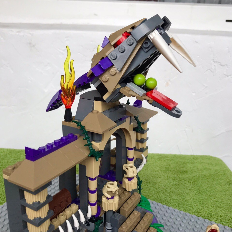 Lego ninjago 70749 храм клана анакондрай фото №4