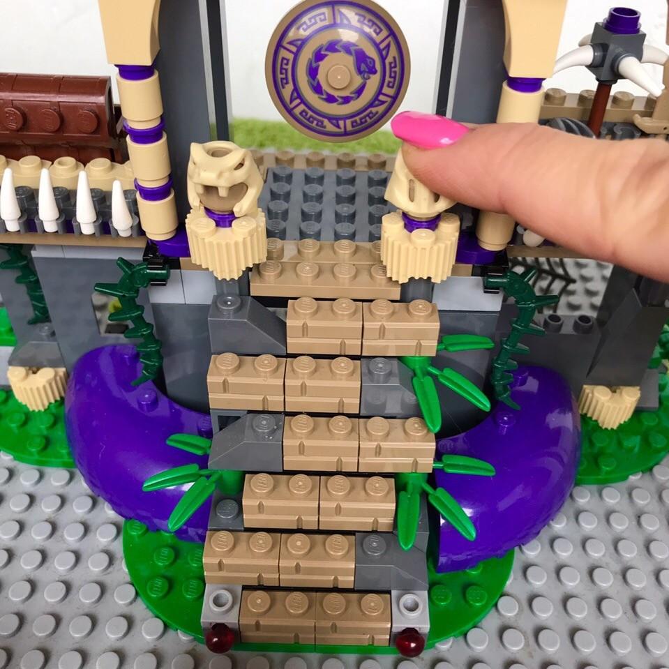 Lego ninjago 70749 храм клана анакондрай фото №6