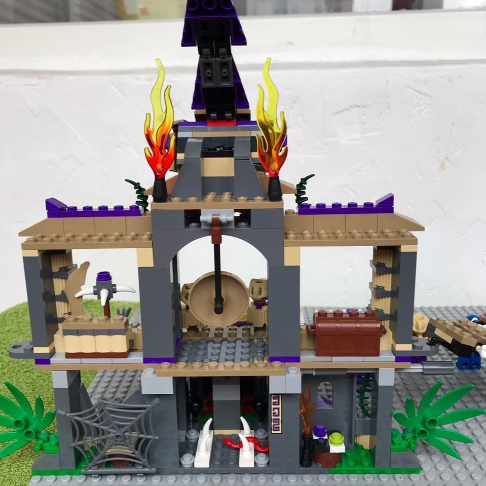 Lego ninjago 70749 храм клана анакондрай фото №7