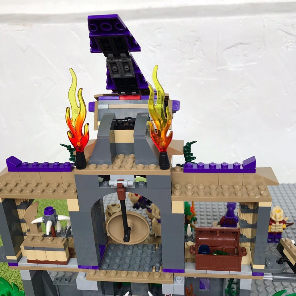 Lego ninjago 70749 храм клана анакондрай фото №8