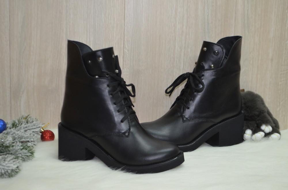 Демисезонные женские ботинки фото №1