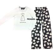 Женская флисовая пижама primark. читать описание!
