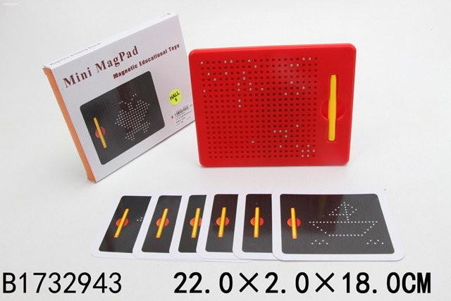 Магнитный планшет для рисования mini mag pad фото №1