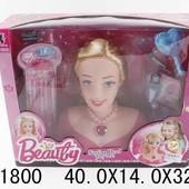 Голова куклы с набором парикмахера