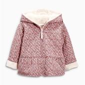 Куртка на меху в цветы Next (2-3г)