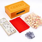Настольная игра русское лото 8820 в картонной коробке: 90 бочонков + 24 карточки
