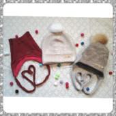 Комплекты и шапочки осень,зима,холодная весна для девочек и мальчиков на любой возраст