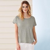 легкая нежная блуза футболка Тсм Чибо. Лен. S L